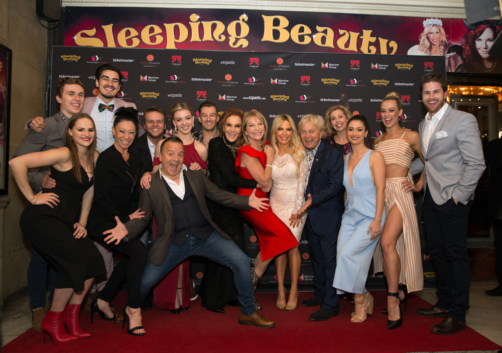 Sleeping Beauty Opening night.  Comedy Theatre
