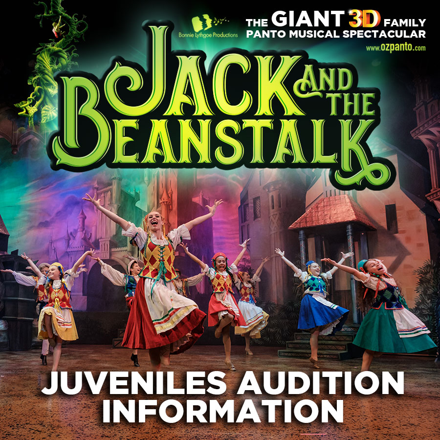 Juveniles Audition Information