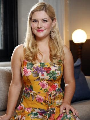 Actress Lucy Durack has taken on a new role in Jack And The Beanstalk. Picture: Sam Ruttyn