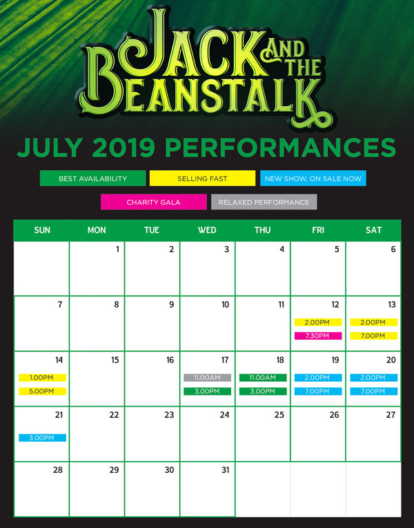 Jack and the beanstalk calendar